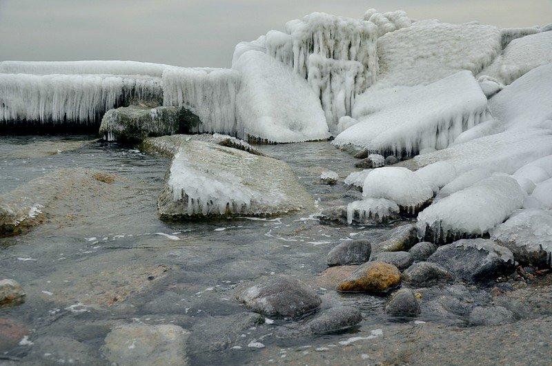 Одесская Аркадия превратилась в зимнюю сказку (ФОТО), фото-11