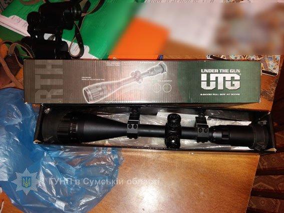 Гвинтівки, порох, патрони, а також оптику намагався приховати від поліції уродженець Конотопщини, фото-3