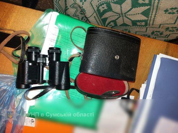Гвинтівки, порох, патрони, а також оптику намагався приховати від поліції уродженець Конотопщини, фото-2