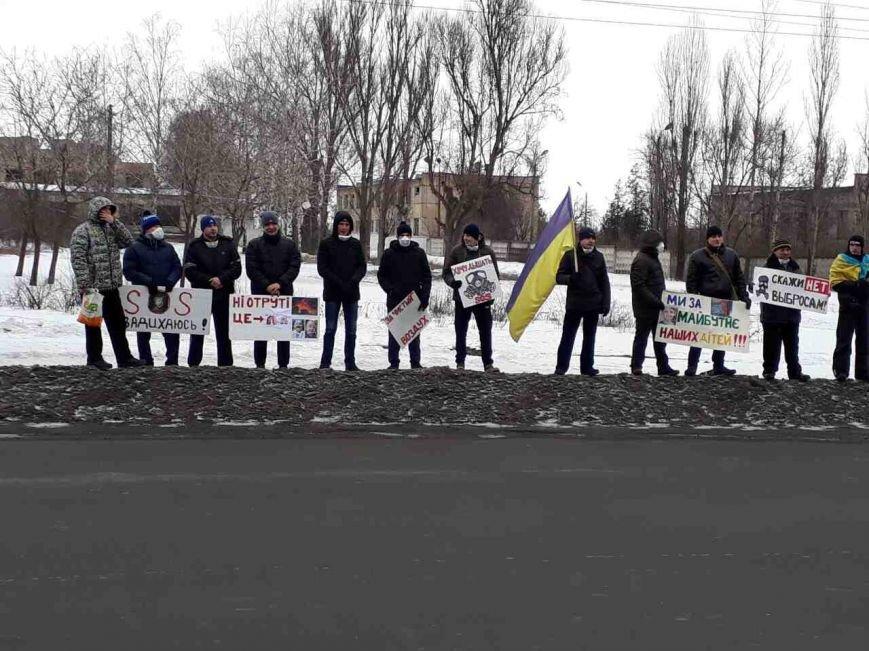 """""""Хочу дышать!"""": сотни криворожан вышли на митинг против предприятия, которое загрязняет воздух (ФОТО), фото-12"""