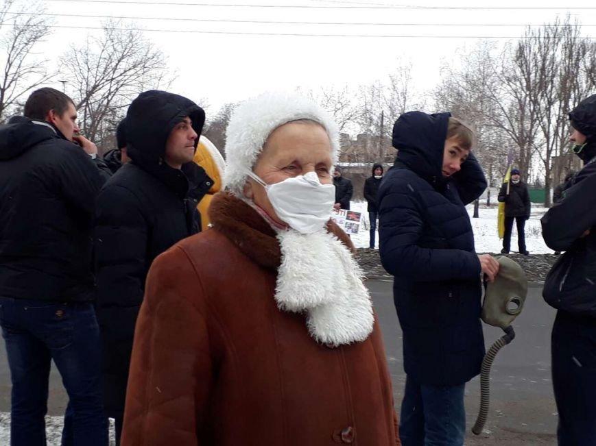 """""""Хочу дышать!"""": сотни криворожан вышли на митинг против предприятия, которое загрязняет воздух (ФОТО), фото-13"""