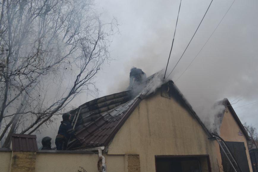 В Одессе возник пожар возле мемориала воинской славы, фото-3