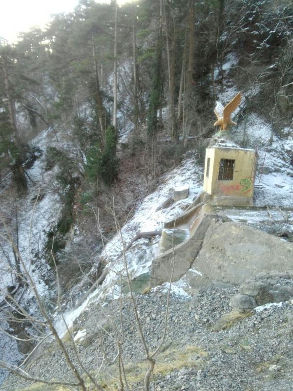 ВИДЕО: в Крыму замерз самый высокий водопад Учан-Су, фото-1