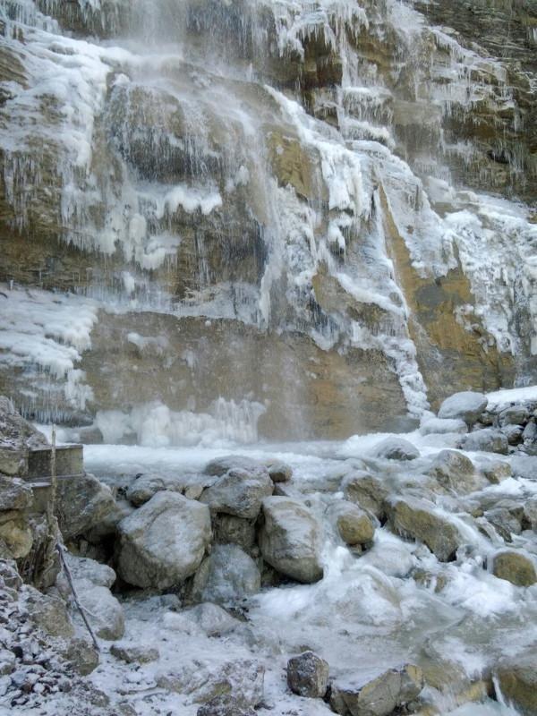 ВИДЕО: в Крыму замерз самый высокий водопад Учан-Су, фото-6