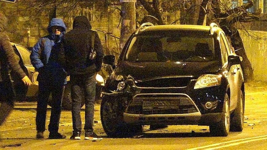В Мариуполе на пр. Строителей сразу три автомобиля попали в аварию (ФОТО), фото-1