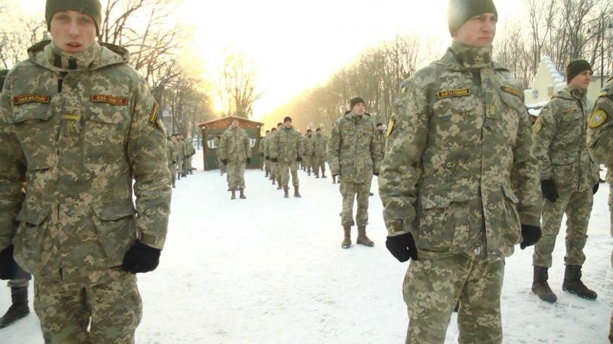 Две тысячи харьковских курсантов отжались в поддержку ветеранов АТО (ФОТО), фото-3