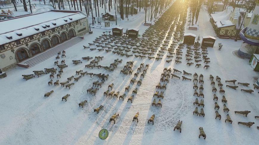 Две тысячи харьковских курсантов отжались в поддержку ветеранов АТО (ФОТО), фото-4