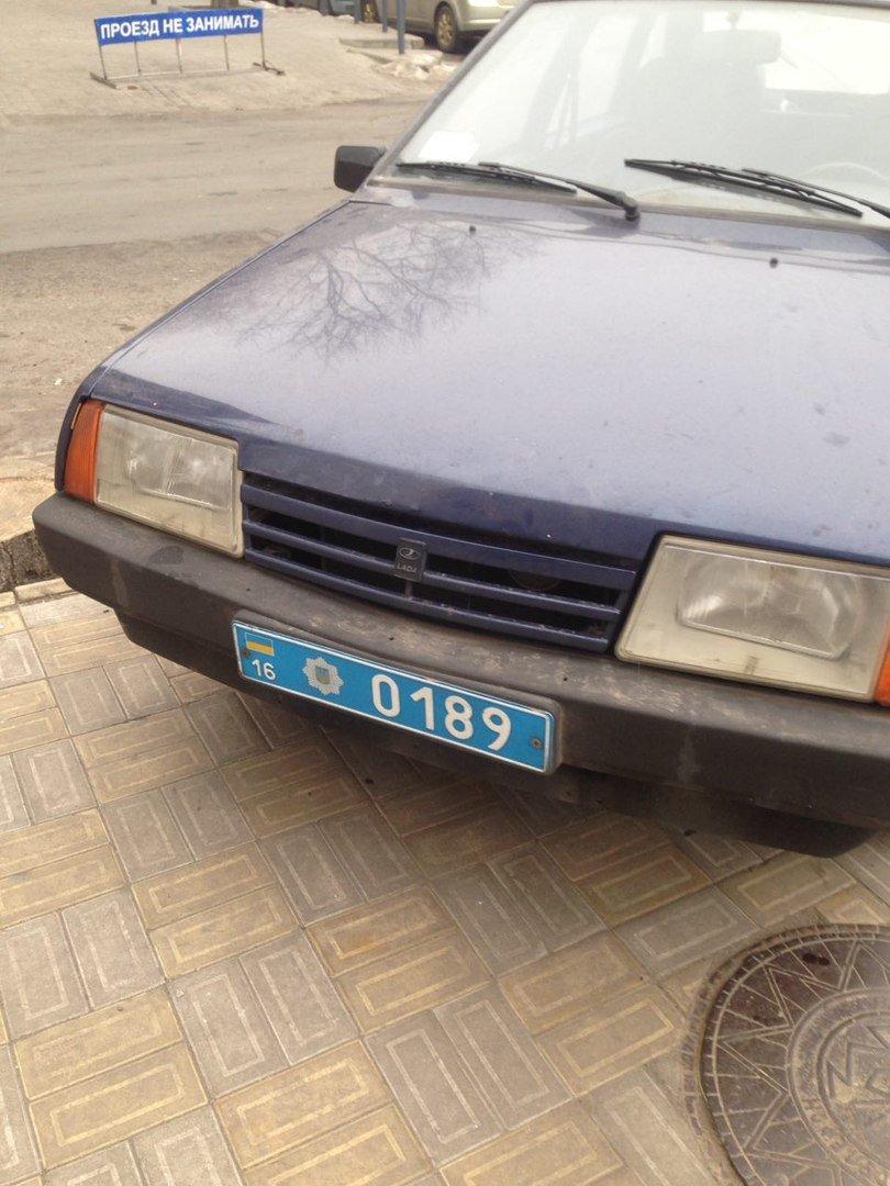 Парковка одесского полисмена шокировала соцсети (ФОТО), фото-3