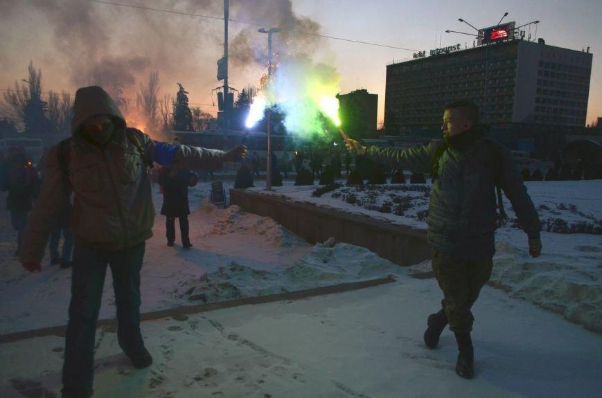 Запорожцы почтили память героев Крут факельным шествием, - ФОТОРЕПОРТАЖ, фото-6