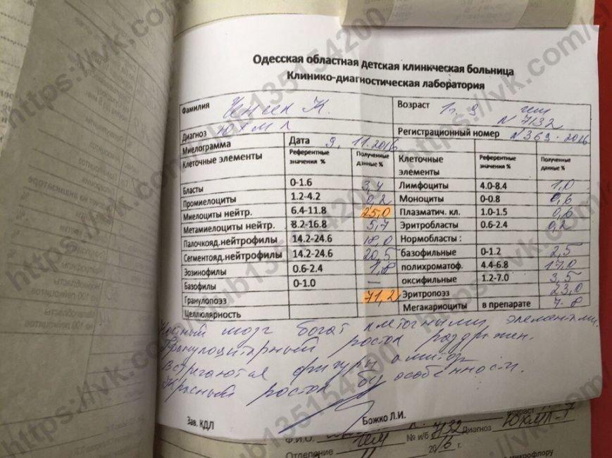 Двухлетнюю кроху из Одессы сразил лейкоз (ФОТО, ДОКУМЕНТЫ), фото-15
