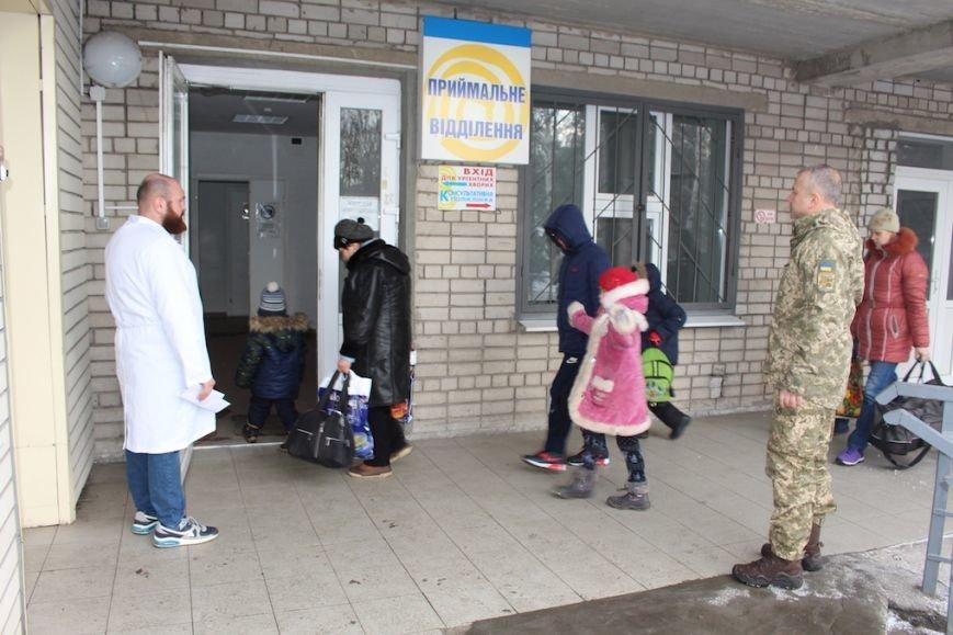 Группа жителей Бахмутского района доставлена в больницы Днепра, фото-1
