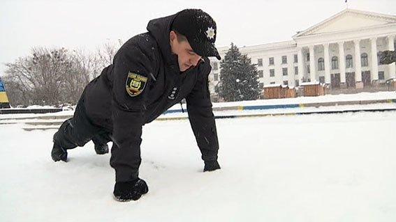 Полицейские Донетчины присоединились к флешмобу в поддержку военных (ВИДЕО), фото-6