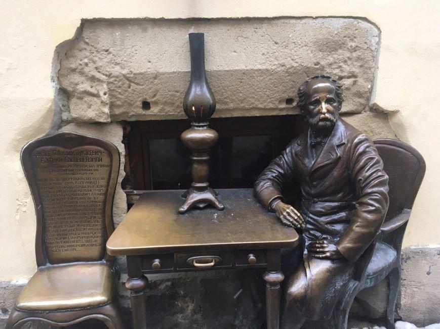 Усмішка, п'яничка і кентавр: ТОП-15 найцікавіших скульптур Львова, фото-4