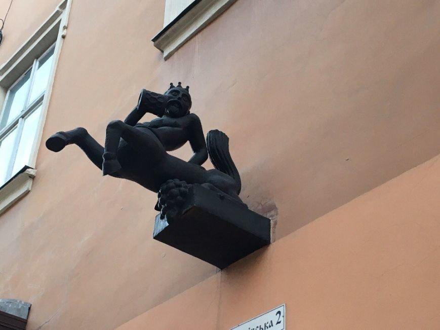 Усмішка, п'яничка і кентавр: ТОП-15 найцікавіших скульптур Львова, фото-5
