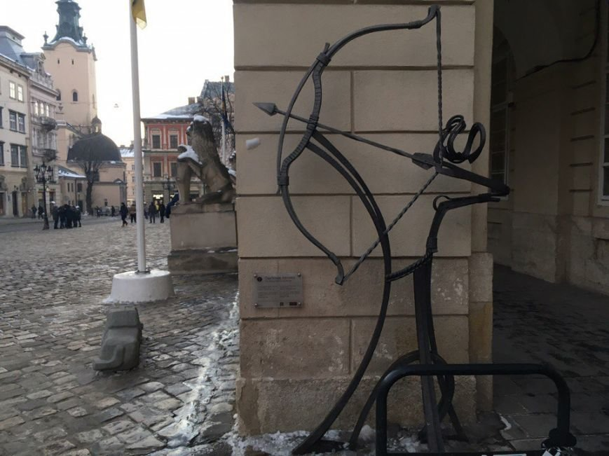 Усмішка, п'яничка і кентавр: ТОП-15 найцікавіших скульптур Львова, фото-9