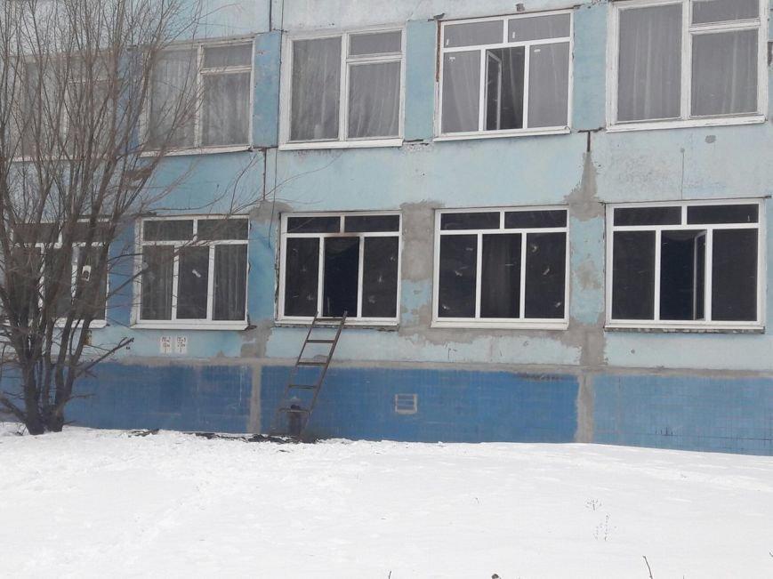 В Каменском произошел пожар в школе, фото-3
