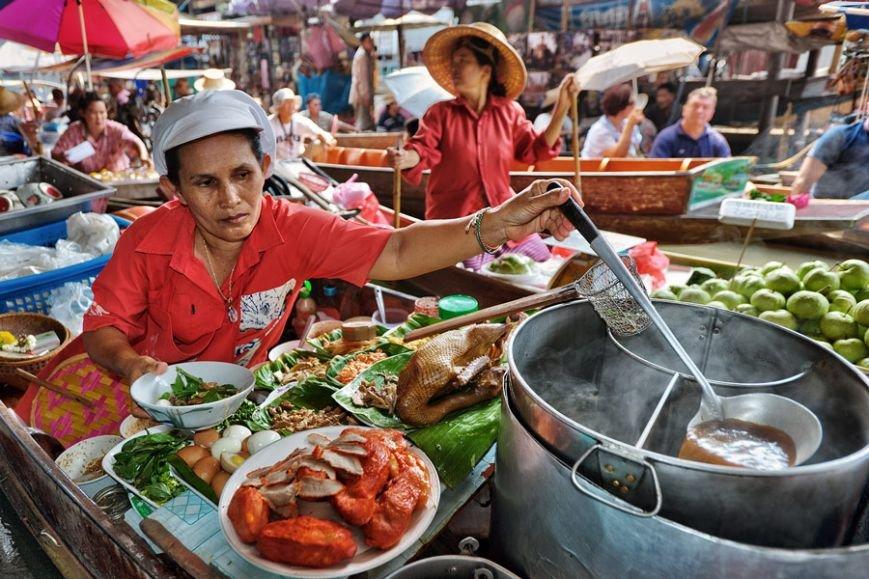 Еда в Таиланде: почему рынки лучше магазинов и огромный ассортимент воды, фото-1