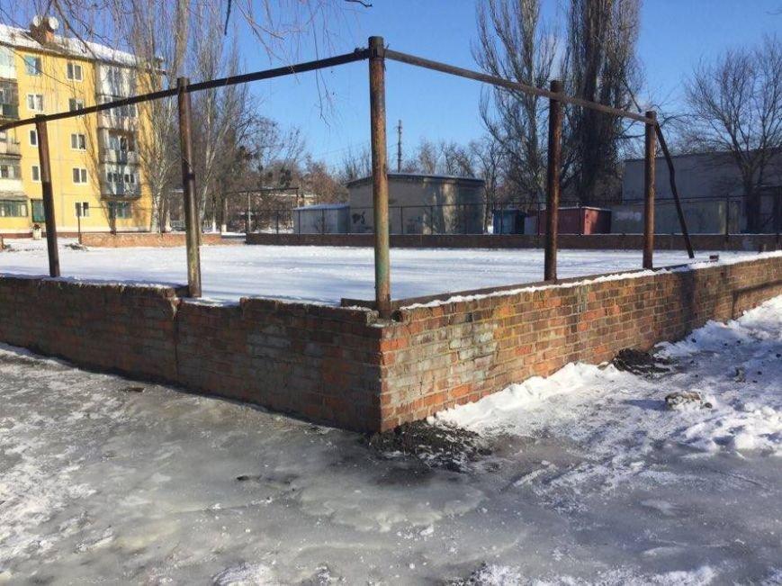 Каток в Славянске не удался (фото), фото-1