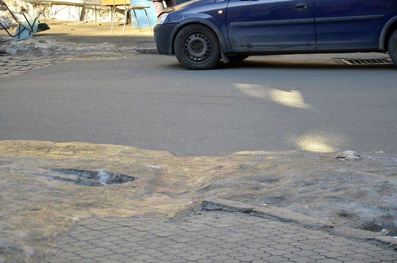 В Одессе «дороги знаний» остались покрыты льдом (ФОТО), фото-6