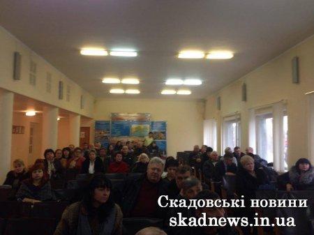 ПриватБанк презентував програму КУБ головам місцевих рад та депутатам Скадовщини, фото-1