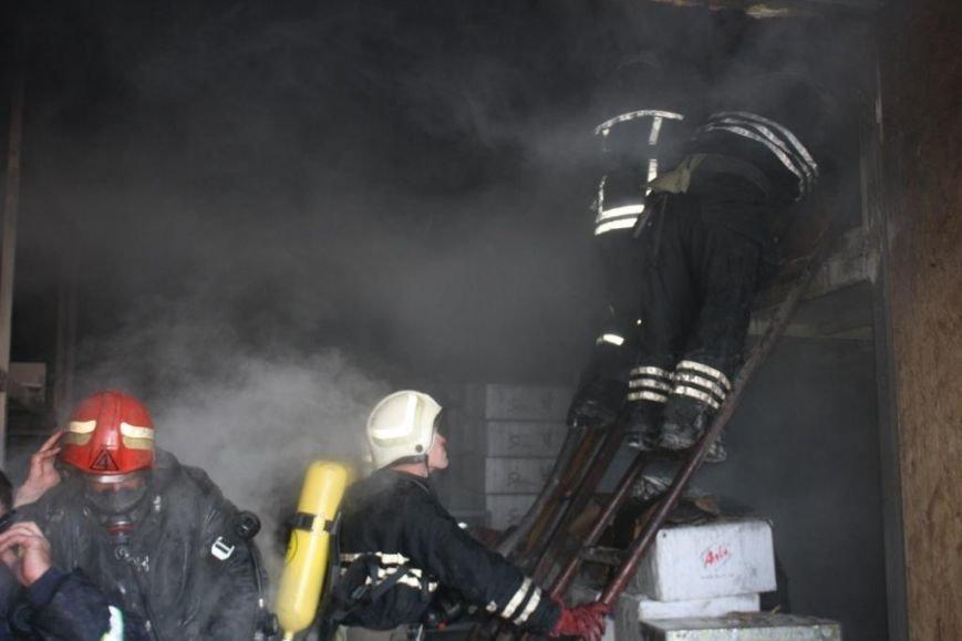 В Запорожье горел склад электроприборов, - ФОТО, фото-1