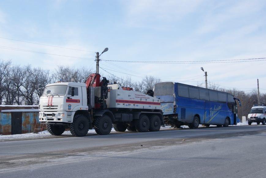 Новошахтинские спасатели пришли на помощь пассажирам перемёрзшего автобуса, фото-2