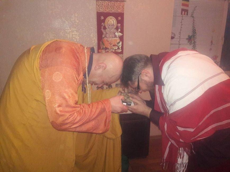 Мелитополь посетил буддийский монах (фото), фото-3