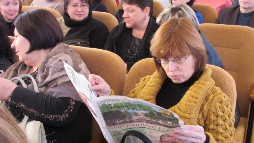 За год работы мэр Мелитополя отчитывался почти два часа (фото), фото-3
