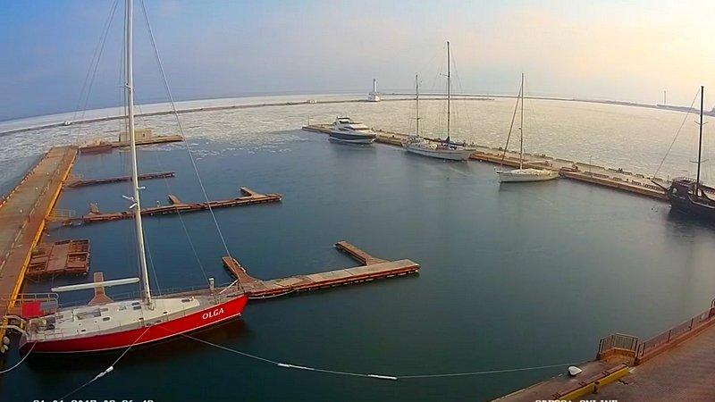 В Одессе замерзло море (ВИДЕО, ФОТО), фото-1