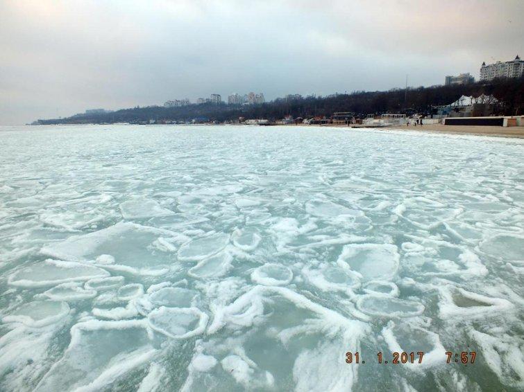 В замерзшем море одесситы нашли полыньи и купаются (ФОТО), фото-3