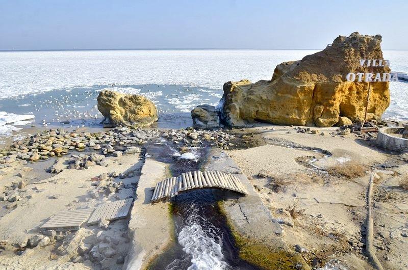 В Одессе вдоль Трассы здоровья растянулись километры льда (ВИДЕО, ФОТО), фото-7