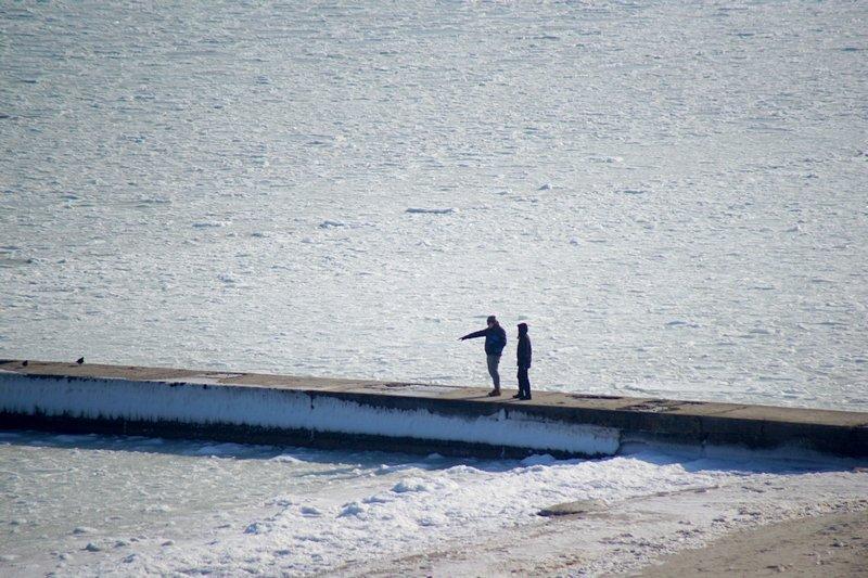 В Одессе вдоль Трассы здоровья растянулись километры льда (ВИДЕО, ФОТО), фото-20