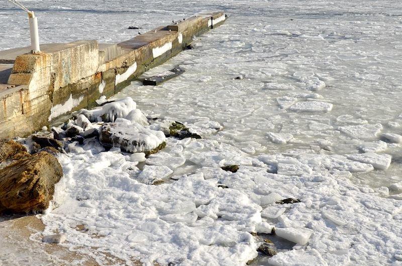 В Одессе вдоль Трассы здоровья растянулись километры льда (ВИДЕО, ФОТО), фото-40