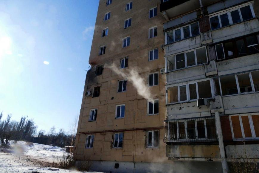 В Донецке снаряды падают в жилые кварталы (ФОТО), фото-1