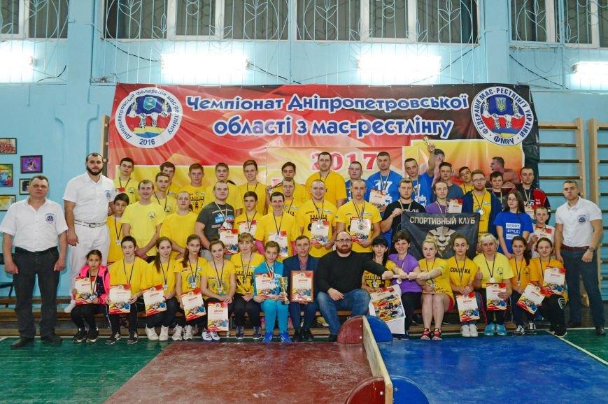 На чемпионате по мас-рестлингу сборная Мелитополя взяла серебро, фото-6