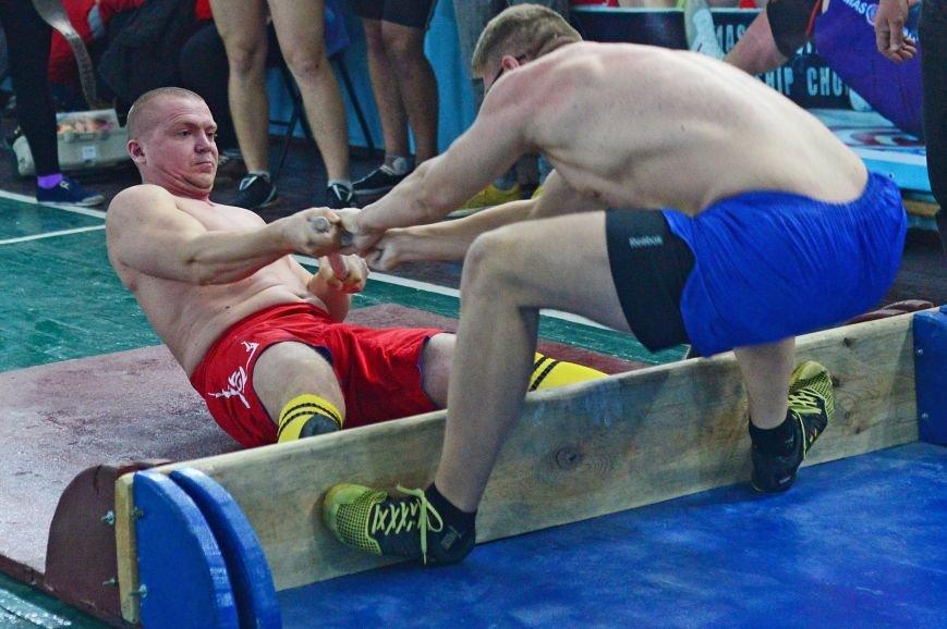 На чемпионате по мас-рестлингу сборная Мелитополя взяла серебро, фото-1