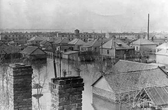 Павлоград, наводнение 1964 года2