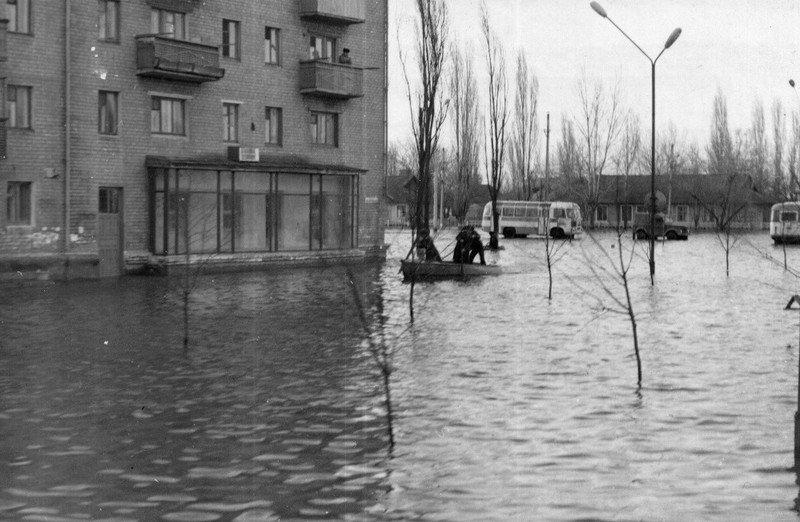 Павлоград, наводнение 1964 года1