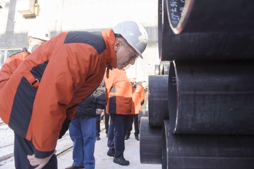 В трубоэлектросварочный цех приехал Дмитрий Пумпянский, фото-6