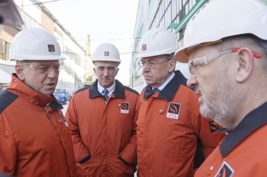 В трубоэлектросварочный цех приехал Дмитрий Пумпянский, фото-1