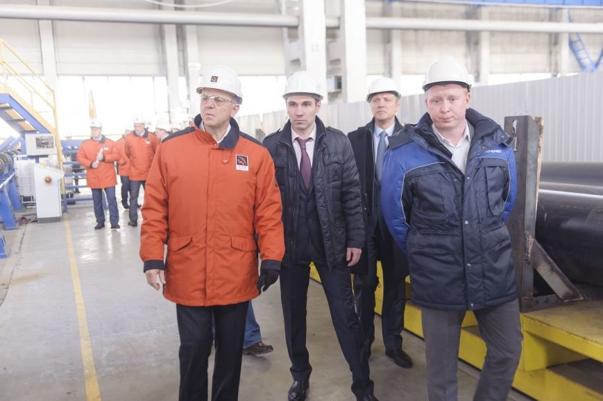 В трубоэлектросварочный цех приехал Дмитрий Пумпянский, фото-3