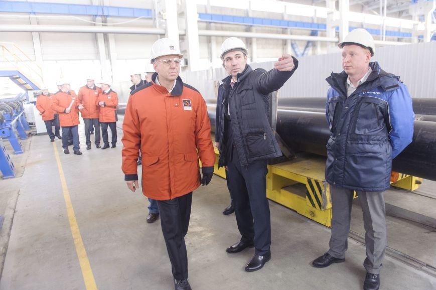 В трубоэлектросварочный цех приехал Дмитрий Пумпянский, фото-4