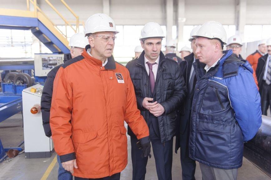 В трубоэлектросварочный цех приехал Дмитрий Пумпянский, фото-2