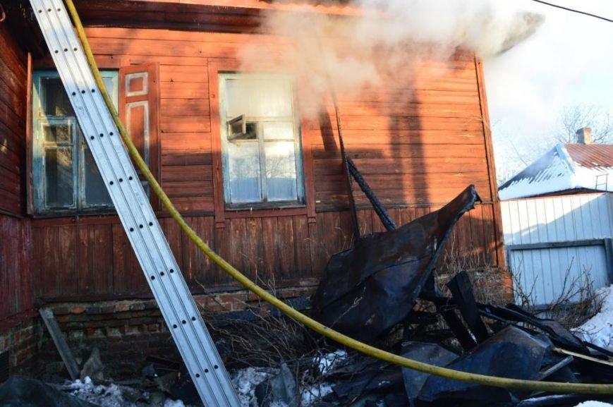 Пожар в частном доме в Чернигове тушили 25 спасателей, фото-3