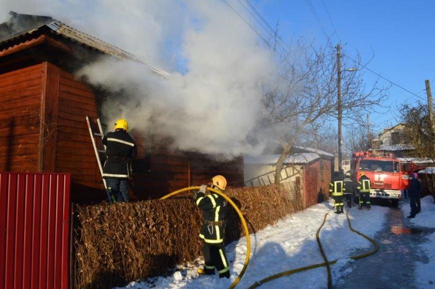 Пожар в частном доме в Чернигове тушили 25 спасателей, фото-2