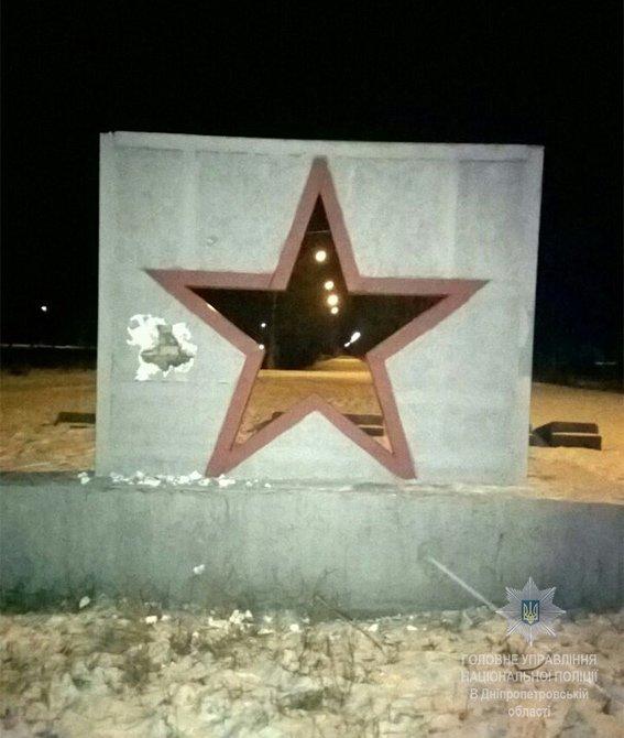Вандалу, повредившему памятник Второй мировой войны, грозит до 5 лет тюрьмы (ФОТО), фото-1