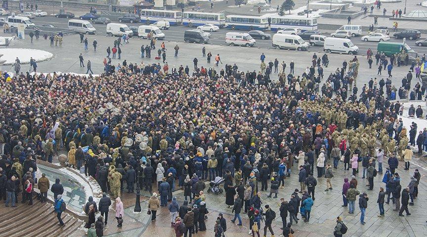 Киев простился с бойцами, погибшими под Авдеевкой (ФОТОРЕПОРТАЖ), фото-1
