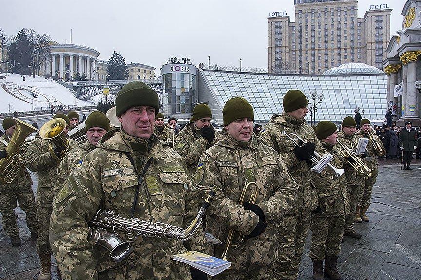 Киев простился с бойцами, погибшими под Авдеевкой (ФОТОРЕПОРТАЖ), фото-2