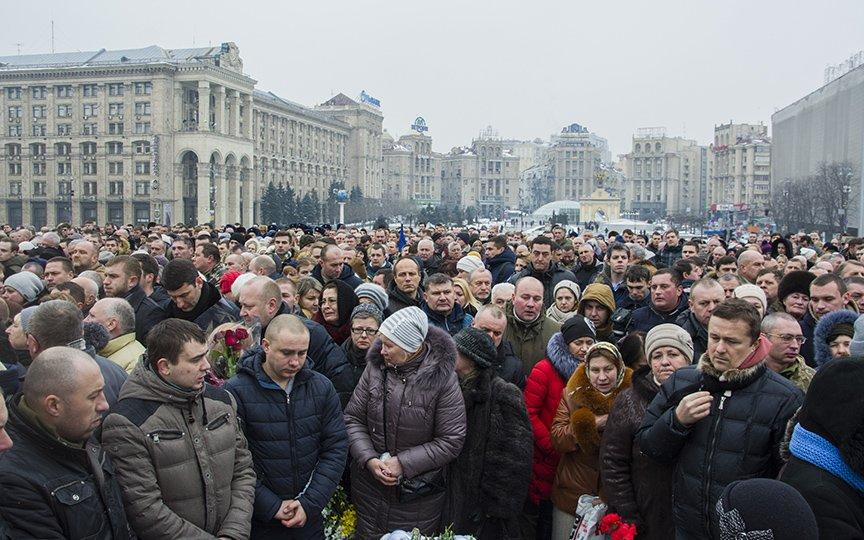 Киев простился с бойцами, погибшими под Авдеевкой (ФОТОРЕПОРТАЖ), фото-16