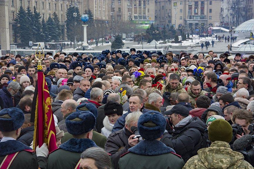 Киев простился с бойцами, погибшими под Авдеевкой (ФОТОРЕПОРТАЖ), фото-22
